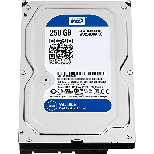 Western Digital WD2500AAKX SATA-Festplatte Caviar Blue 250GB interne