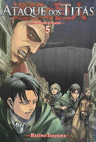 Ataque dos Titãs - Volume 5