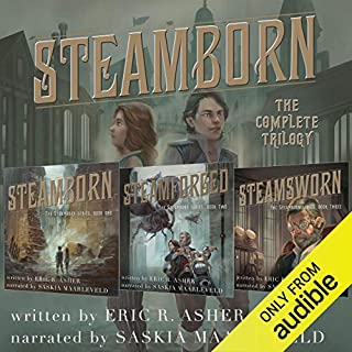Page de couverture de Steamborn: The Complete Trilogy Box Set