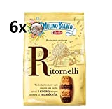 6x Mulino Bianco Kekse Ritornelli 700g Italien biscuits cookies kuchen brioche