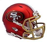 Riddell San Francisco 49ers Blaze Speed Mini Helm, rot -