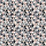 100% Baumwolle Baumwollstoff Dreiecke Rauten Kinderstoff