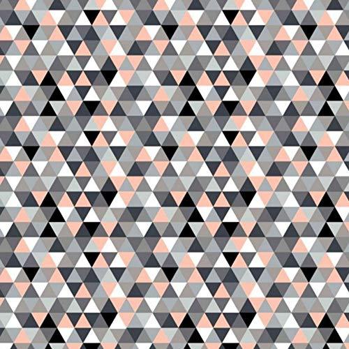 Pingianer 11,99€/m Dreiecke Pyramide 100% Baumwolle Baumwollstoff Kinder Meterware Handwerken Nähen Stoff (Dreiecke Bunt 2, 100x160cm (11,99€/m))