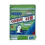Toalla de baño coreana con nombre italiano, 20 unidades, exfoliante corporal,...