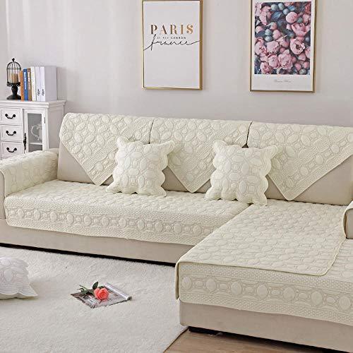Ginsenget Sessel Schoner Sofabezug Sofaschonbezug Sofa Sofa Überdecke Varianten,Doppelseitiger Sticksand
