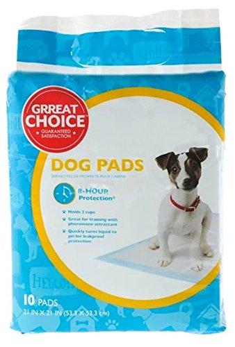grreat choice pee pads