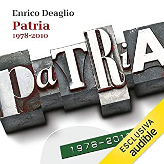 Patria 1978-2010 copertina