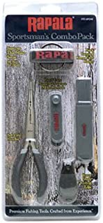 Rapala Combo Pack 6 1/2 Pliers / Jig punch/ Hook Sharpener / Clipper