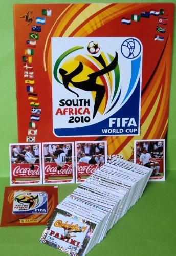 Panini WM 2010 - Komplettsatz + Leeralbum + Satz Sondersticker Klose