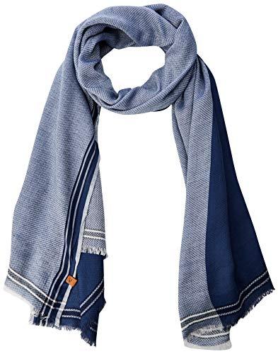 Camel Active 407190 sjaal voor heren, blauw (blauw 40), één maat (maat: OS)