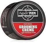 Agadir Argan Oil Agadir Men Oud Wood Grooming Creme (Light Hold/Gloss Finish) 85g