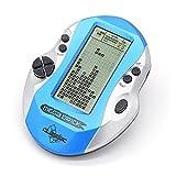 Winbang Joueurs de Jeux Portables Tetris Classiques, Jeux électroniques pour Enfants Jeux Console de Jeux à LED construite en 26 Jeux (Bleu)