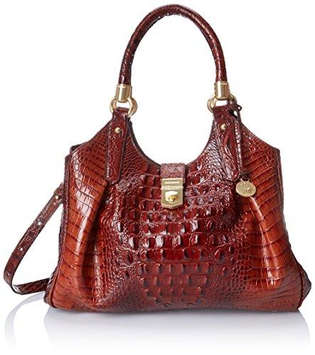 Brahmin Elisa Shoulder Bag, Pecan, One Size