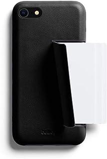 Bellroy Premium Slim Leather Phone Case - 3 Card (カードホルダー付き、iPhoneSE用) - Black