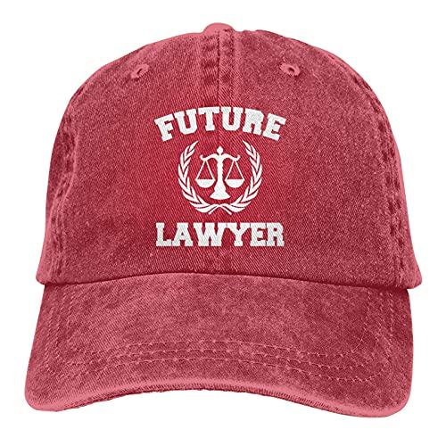gymini Future Lawyer - Berretto da baseball classico unisex con fibbia regolabile, per campimg