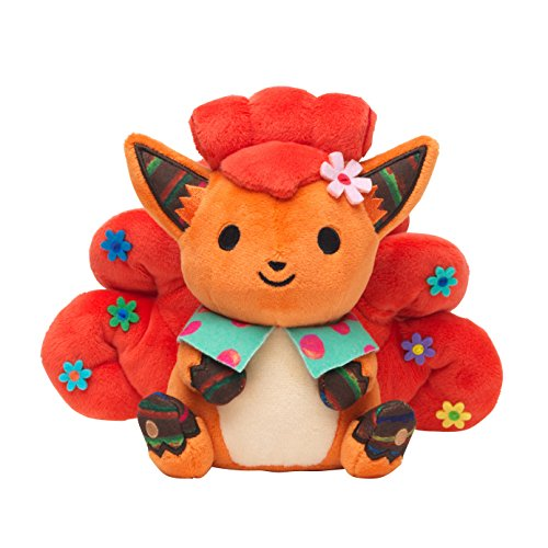 Pokemon Vulpix Chiku Chiku Sewing Plush 7\