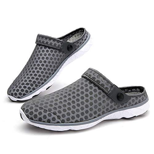 Gaatpot Damen Herren Mesh Pantoletten Atmungsaktiv Freizeit Schuhe