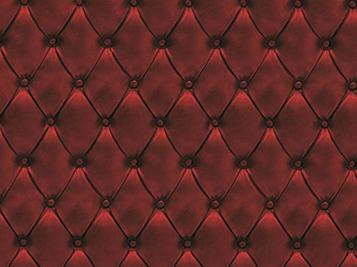 Möbelstoff Chesterfield Soft Farbe 60 (rot, bordeaux, Druck, bedruckt) - moderner Digitaldruck (gemustert,geometrisch) Polsterstoff, Stoff, Bezugsstoff, Eckbank, Couch, Sessel, Hussen, Kissen