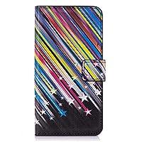 Samsung Galaxy S9 レザー ケース, 手帳型 サムスン ギャラクシー S9 本革 ポーチケース 全面保護 ビジネス カバー収納 財布 無料付スマホ防水ポーチIPX8 White5