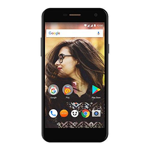 Wileyfox Spark + - 5-Zoll-HD Bildschirm (Dual-SIM-Funktionalität 4G) SIM freies Smartphone, 13MP Kamera, 2GB RAM, Android 7.0 (demnächst). - Schwarz