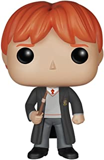 Funko POP Movies: Harry Potter Ron Weasley Action Figure,...