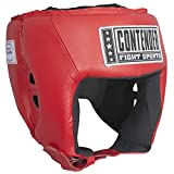 Contender Fight Sports AHG1 RedLarge Open Face Competition Headgear Large Red
