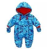 Bambino Tute da neve Neonato Hooded Pagliaccetti Body Overalls (6-9 Mesi)