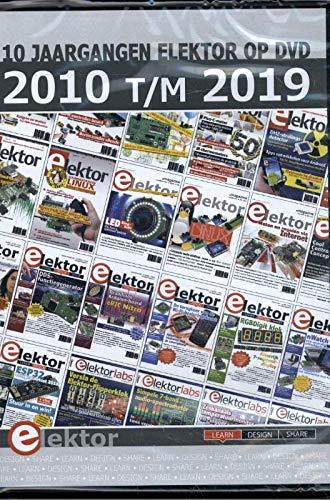 DVD Elektor 2010 t/m 2019: 10 Jaargangen Elektor op DVD