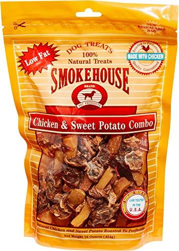Smokehouse Chicken & Sweet Potato Dog Treats, 16 Ounce, 6 Pack