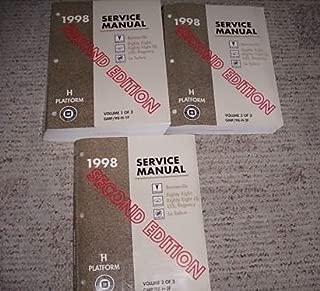 1998 Buick Le Sabre LeSabre Service Repair Manual Set (2nd edition Service manual three volume set.)