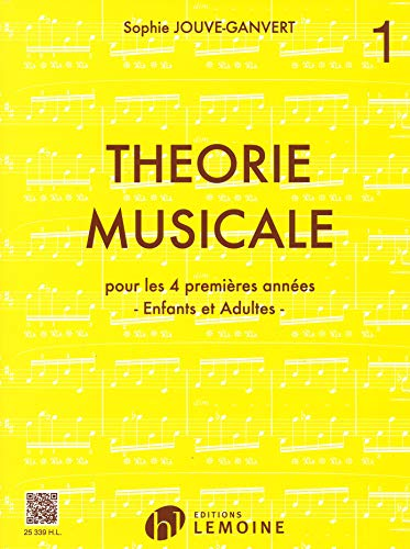 Théorie musicale Volume 1