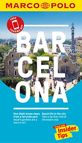 Barcelona Marco Polo Pocket Travel Guide 2018 - with pull out map (Marco Polo Guide)