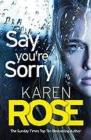 Say You're Sorry: The Sacramento Series Book 1