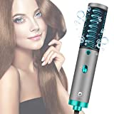 YOUNGDO Hair straightening Brush - 5s Fast PTC Ceramic Heating Straightener Brush and Comb for Frizz-Free Silky Hair, 3 in 1 Hot Air Brush with Blow Dryer Brush Hair Dryer Brush for Hair Styling