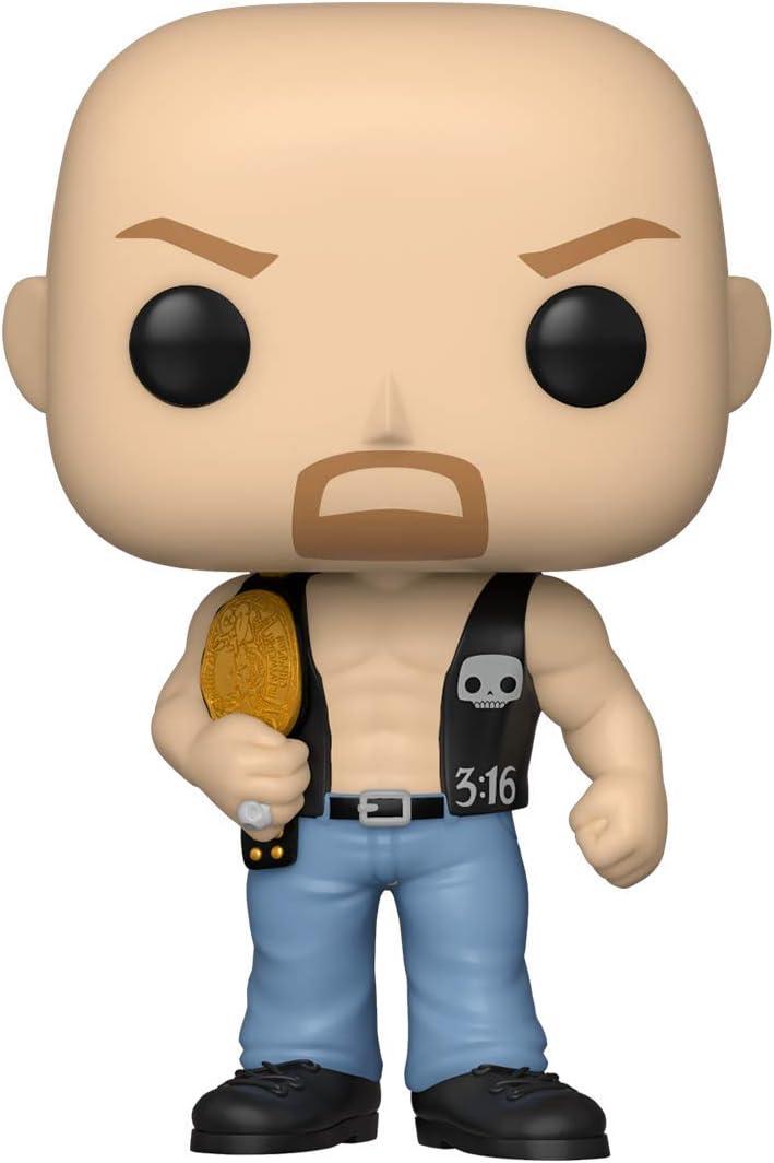 Amazon.com: Funko Pop! WWE: Stone Cold Steve Austin con cinturón : Funko: Juguetes y Juegos