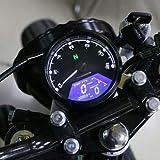 XuBa Moto Universel LCD Jauge de Compteur de Vitesse tachymètre Odomètre de Signal pour Scooter