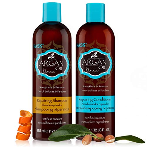 Hask Argan Oil Shampoo & Conditioner Combo Set Review