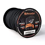 Titan Paracord 620 LB SurvivorCord, 500 Spool - Tactical Black
