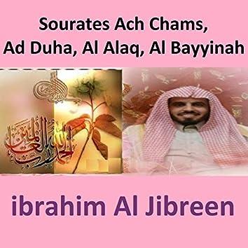 Sourates Ach Chams, Ad Duha, Al Alaq, Al Bayyinah (Quran)