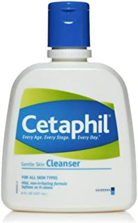 Cetaphil Gentle Cleanser 8 ounce (Pack 2)