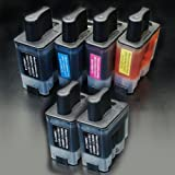 むさしのメディア BROTHER(ブラザー) LC09-4PK+BK2 (4色+黒2個) 互換インクカートリッジ