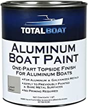TotalBoat Aluminum Boat Paint (Light Gray, Quart)