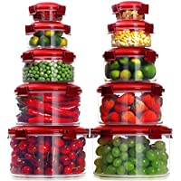 10-Piece Lockcoo Food Storage Containers with Lids