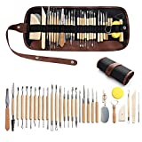 aRtEllcoco 30pcs Clay Sculpting Tools with...