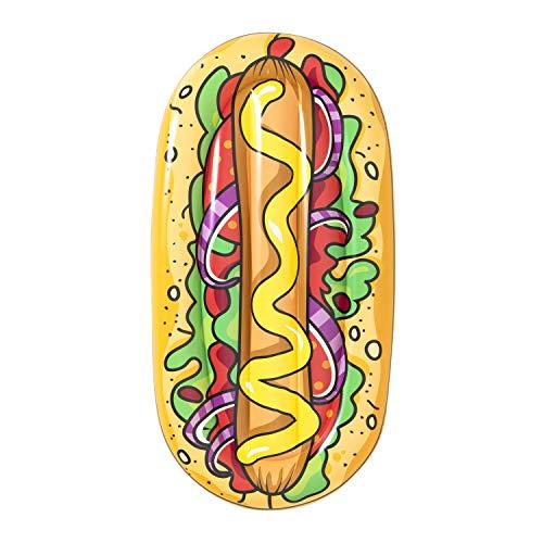 Bestway Luftmatratze Hot Dog, 190 x 109 cm