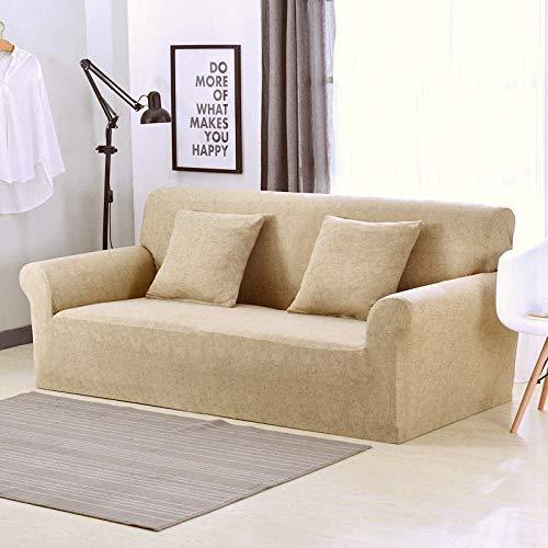 WXQY Funda de sofá Floral elástica en Forma de L Funda de sofá de Esquina combinación protección para Mascotas Funda de sofá Antideslizante combinación A4 4 plazas