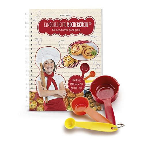 Kinderleichte Becherküche - Kleine Gerichte ganz groß! - Backset inkl. 3-farbige Messbecher