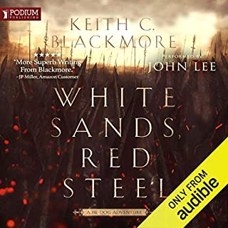 White Sands, Red Steel cover art