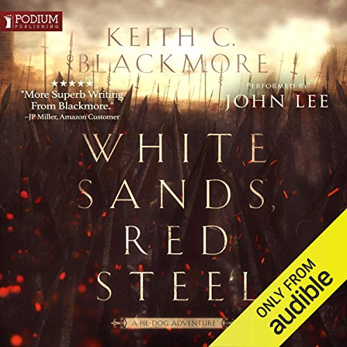 White Sands, Red Steel  By  cover art