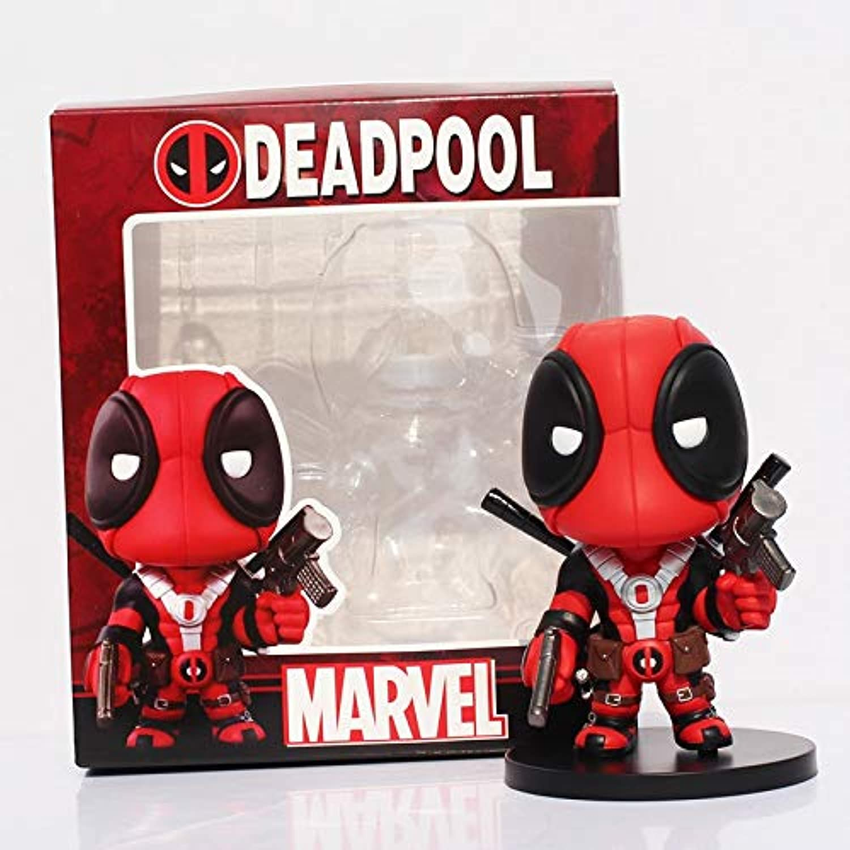XMen Deadpool Q Version Figure PVC Action Figures Collectible Toy Doll